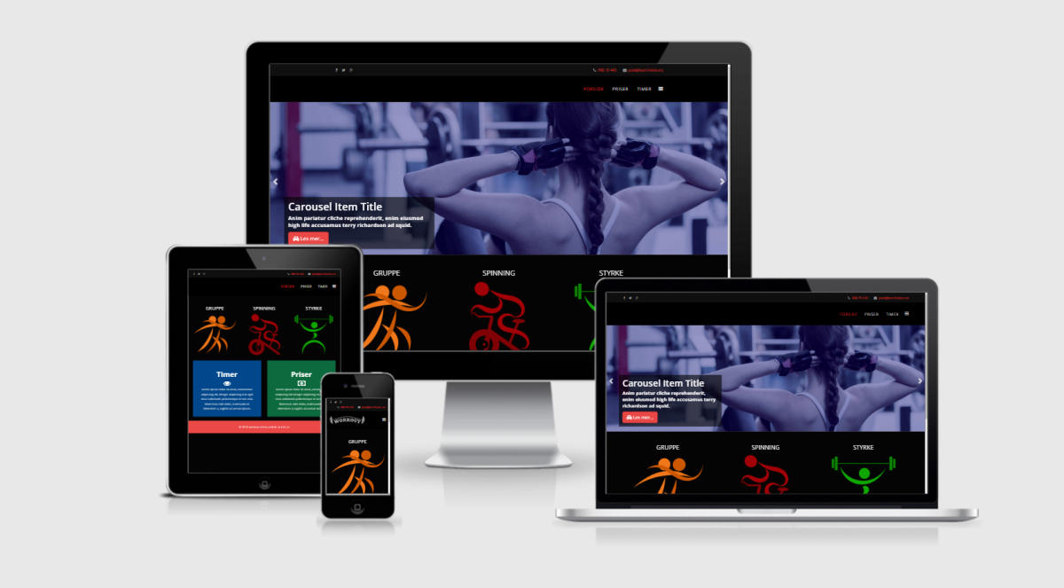 workout demo joomla